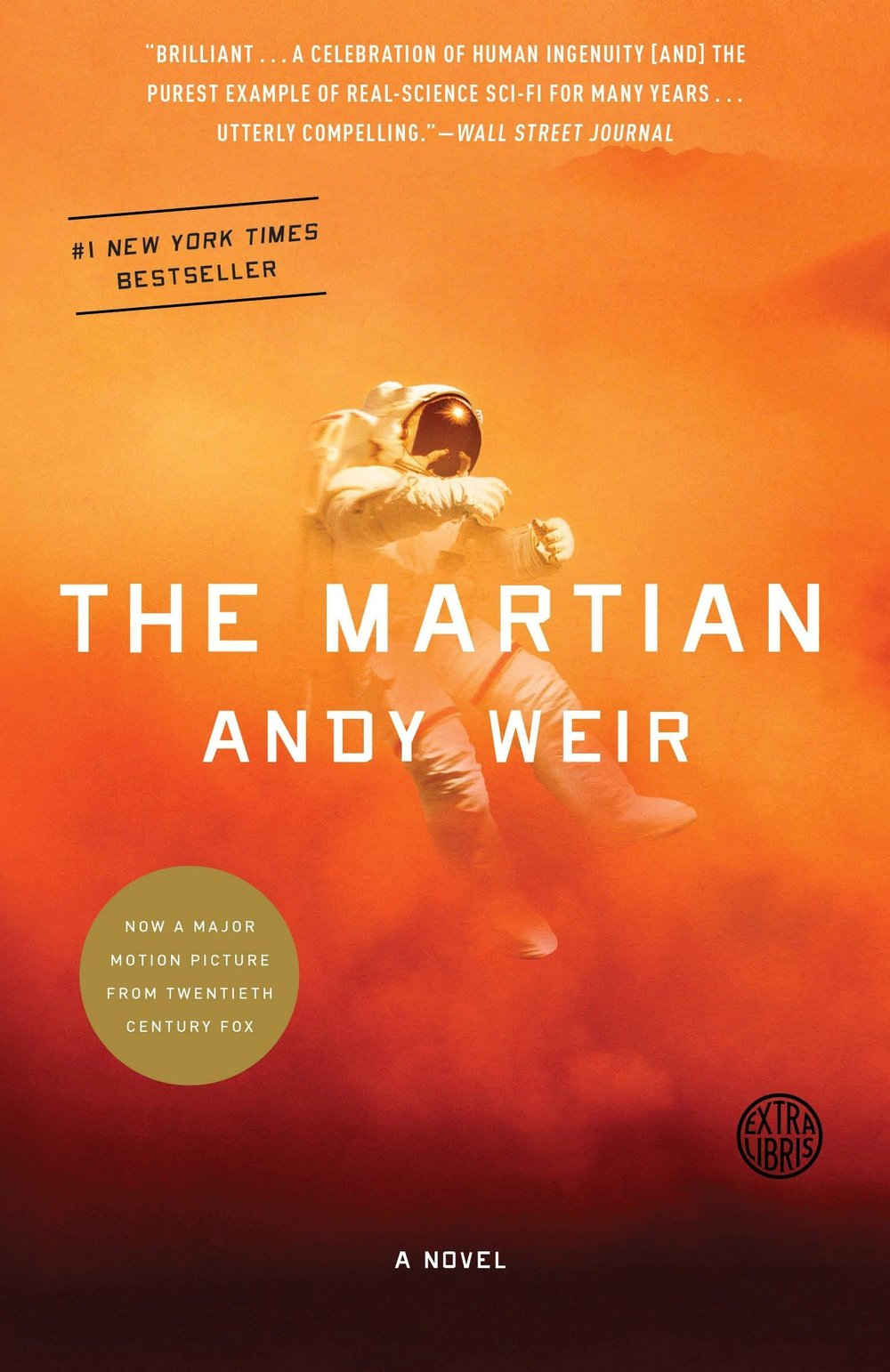The Martian - By Andy WeirIf you haven't read it (or seen the movie), you've certainly heard of it. This book is an absolute joy to read because of its strong characters, terrifying setting (yay Mars!), and adherence to science realism.Description:Six days ago, astronaut Mark Watney became one of the first people to walk on Mars.Now, he's sure he'll be the first person to die there.After a dust storm nearly kills him and forces his crew to evacuate while thinking him dead, Mark finds himself stranded and completely alone with no way to even signal Earth that he's alive—and even if he could get word out, his supplies would be gone long before a rescue could arrive.