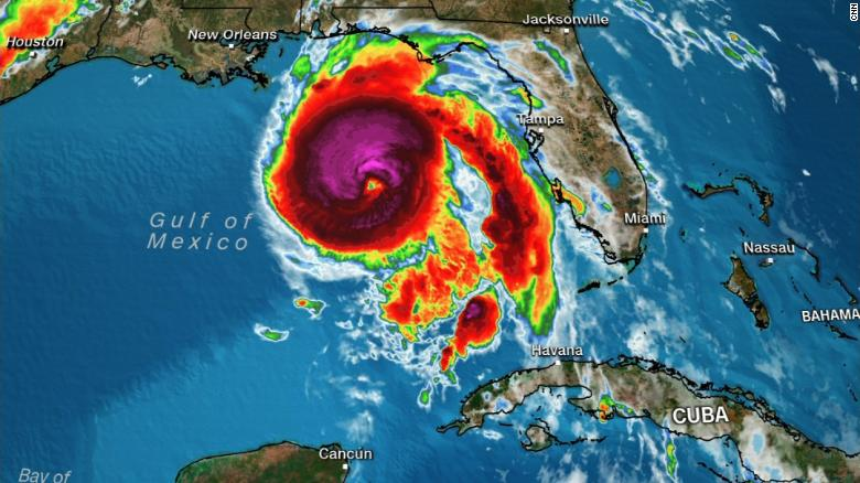 "Hurricane Michael makes landfall in Florida Panhandle with 155-mph winds - CNN   A potentially catastrophic Category 4 Hurricane Michael has made landfall in the Florida Panhandle with sustained winds of 155 mph, making this the strongest storm to hit the continental US since  Hurricane Andrew  smashed into South Florida in 1992.  ""I am scared to death for the people who chose not to evacuate. This is just a horrendous storm,"" Gov. Rick Scott told CNN shortly after Michael's landfall.  Streets were flooding in the Panhandle city of Apalachicola. In Panama City Beach, winds of about 100 mph furiously whipped the trees in the early afternoon as siding ripped from a building got caught against a fence.  CNN.com"