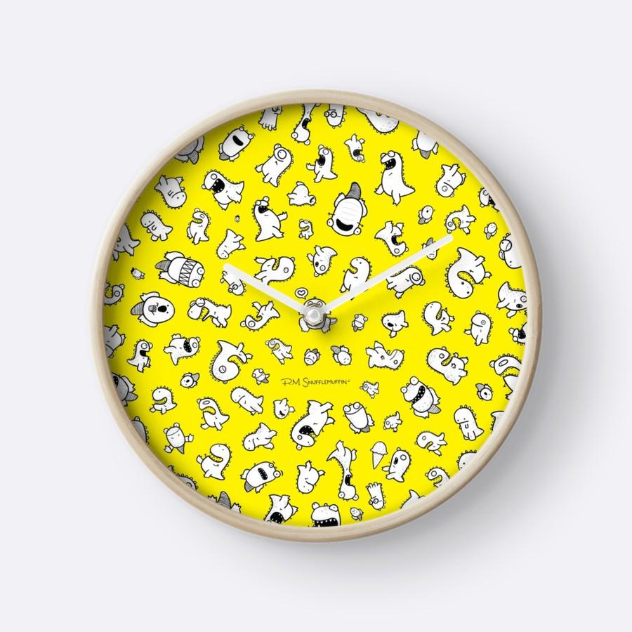 Dino-mite! (Yellow)   $30    Available through RedBubble.com