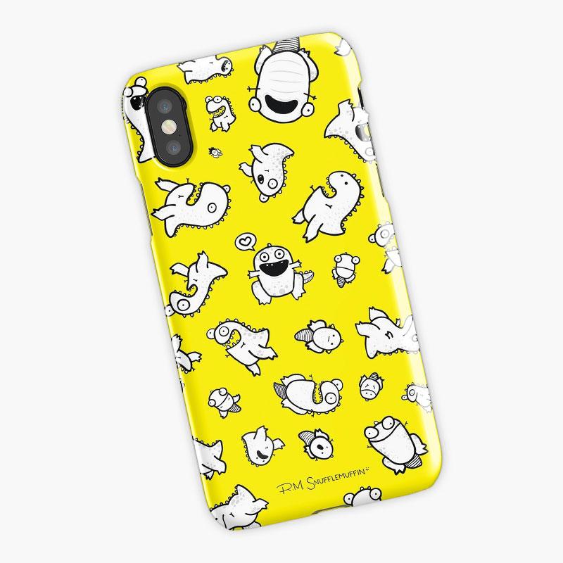 Dino-mite! (Yellow)   $25     Available through RedBubble.com