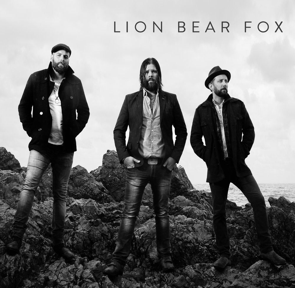 Lion Bear Fox album cover - Photo Credit: Tyler Simpson Photography