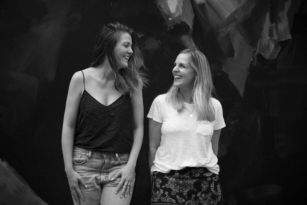 Wayward Studio founders Emma Vidgen and Sarah Tarca