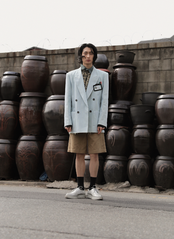 Spring/Summer 2018 Fashion campaign promoting modern Korean menswear designers  Munn  and  Ordinary People  and cultural heritage sites.