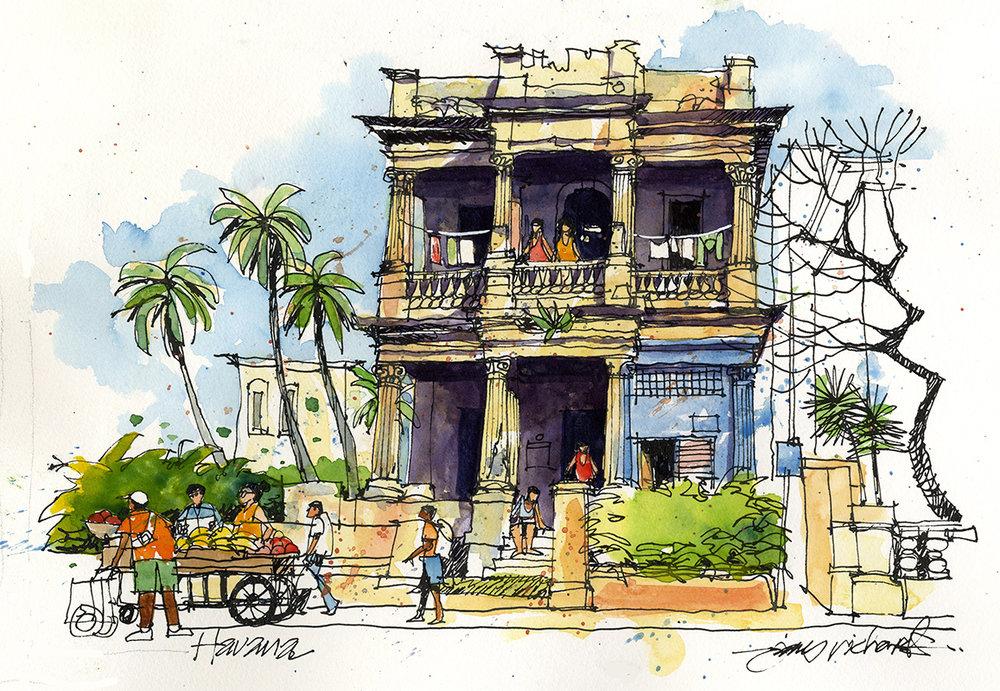 Faded elegance. Havana