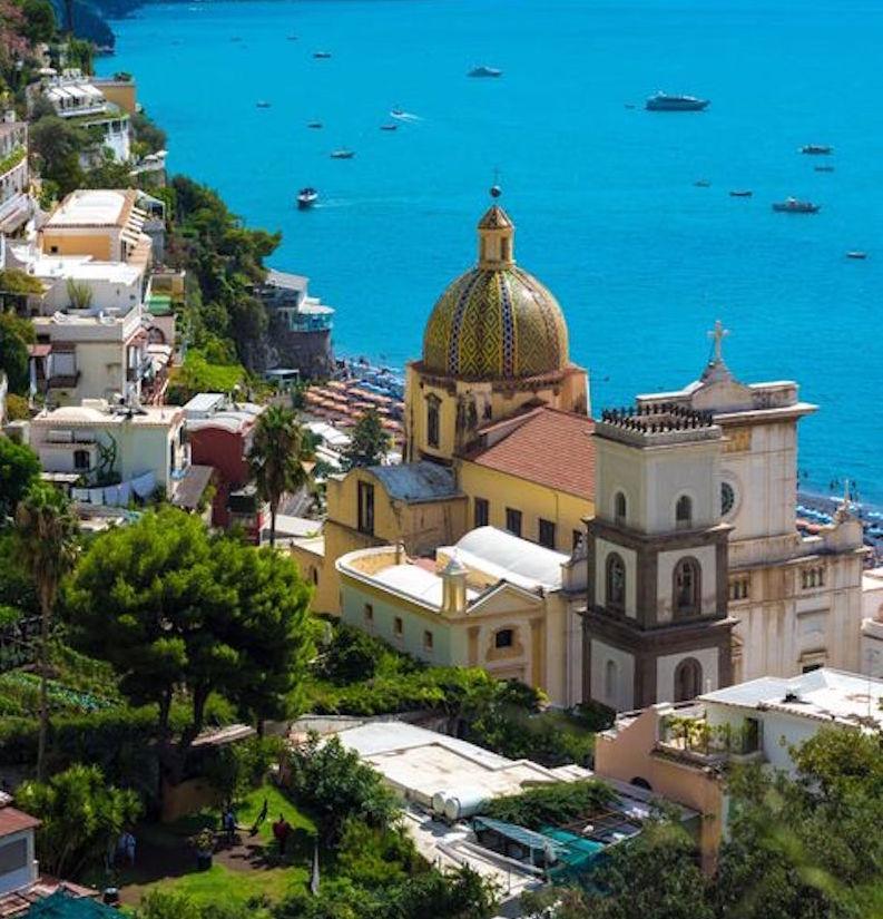 Positano on the Amalfi Coast Campania
