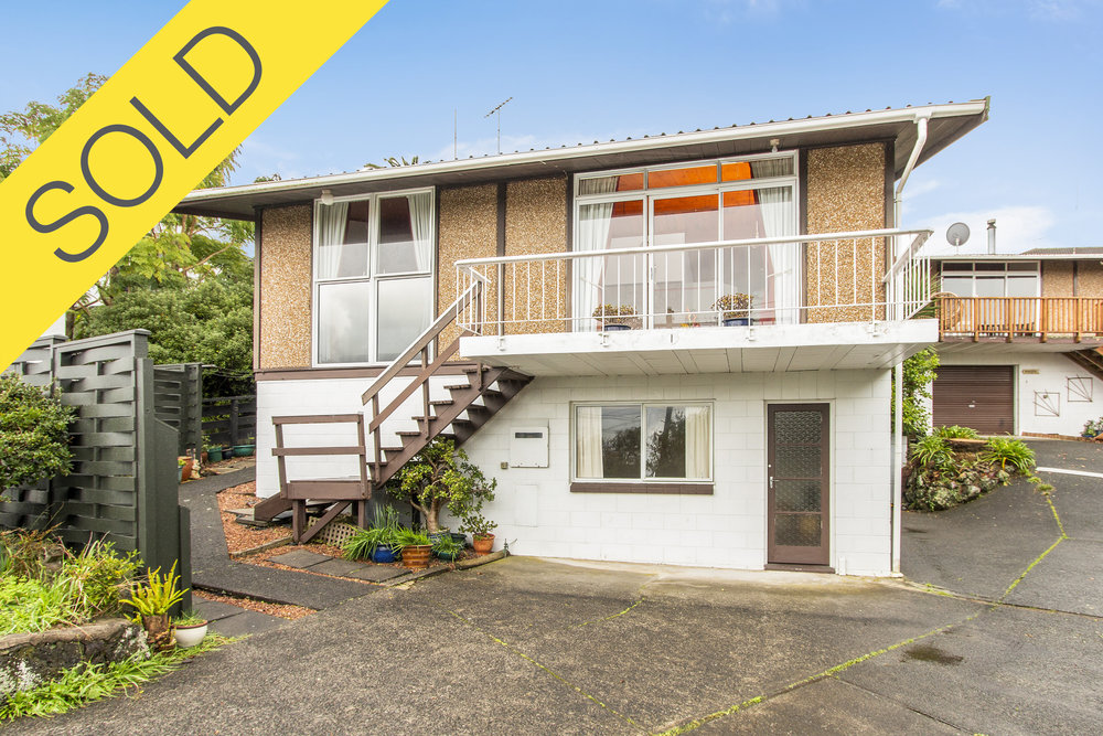 1/62A Ngatiawa Street, One Tree Hill, Auckland - SOLD JUNE 20182 Beds   1 Bath   2 Parking