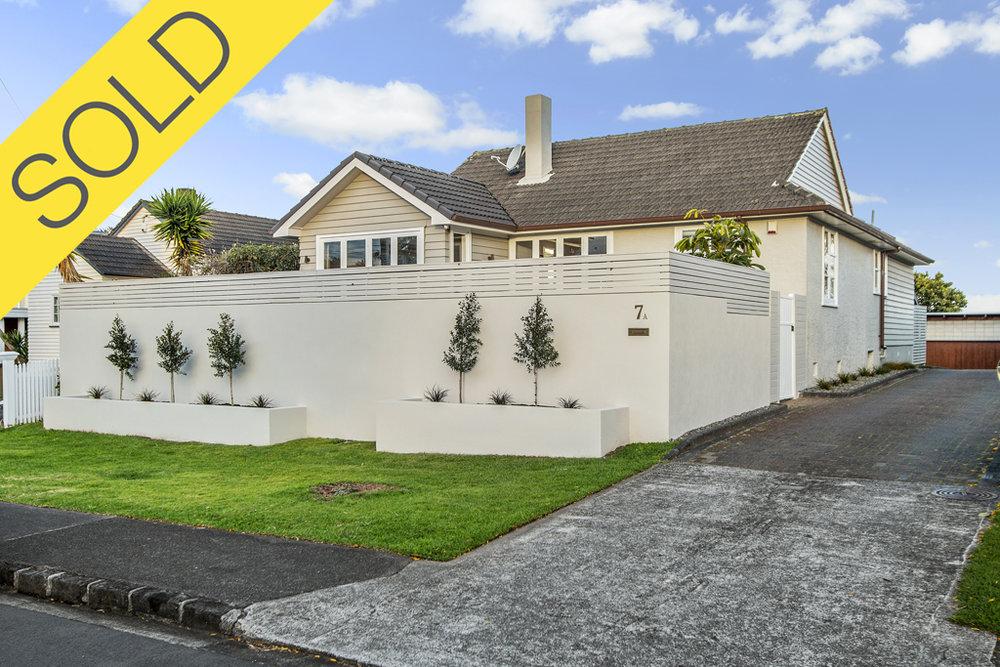 7A Te Kawa Road, Greenlane, Auckland - SOLD OCTOBER 20183 Beds   2 Bath   2 Parking