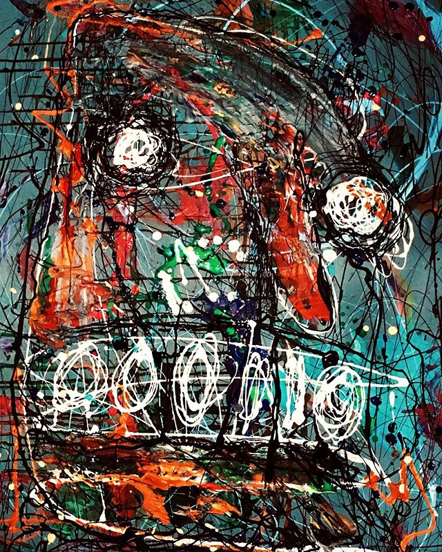 Untitled (2019)  #art #artist #artistofinstagram #learn #model #artsy #collab #mixedmedia #gallery #magazine #dark #fun #picture #sketch #abstractart #masterpiece #crayon #latex #draw #sketchbook #instaart #creative #abstractart
