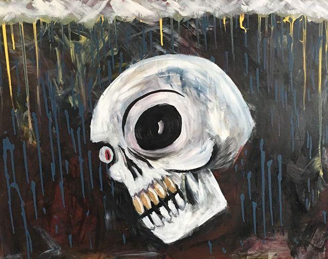 Quiet Storm (2019)  #art #artist #artistofinstagram #learn  #artsy #collab #mixedmedia #gallery #magazine  #fun #picture #sketch  #masterpiece  #draw #sketchbook #instaart #creative #skull #scifi #storm