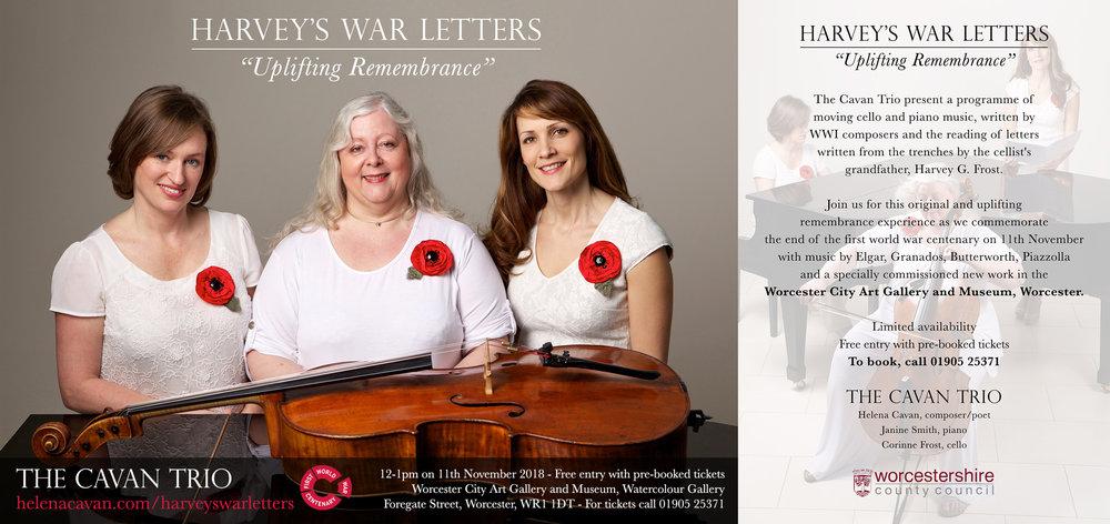 Harvey's War Letters Flyer.jpg