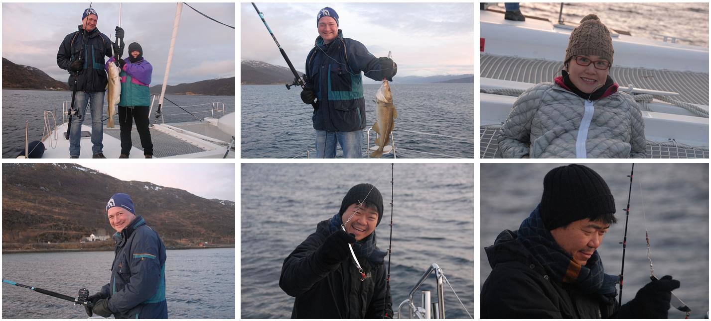 Fishing at Arctic Princess