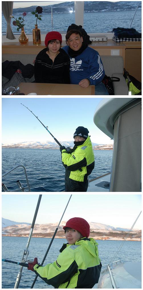 Fish trip from Tromsø | Singaporw customer February 4