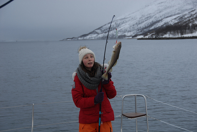 Fishing Tromso Cute