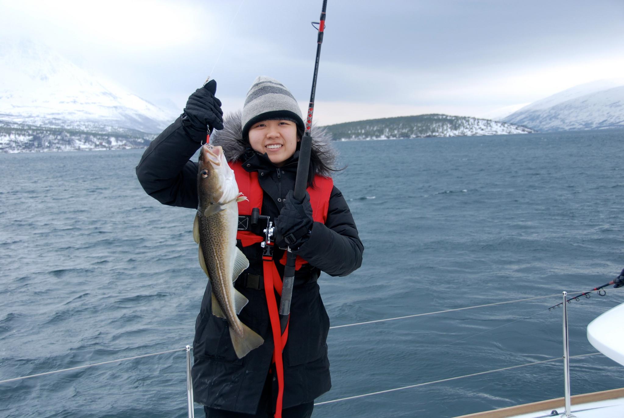 Fishing |Tromso | Arctic Princess | Happy