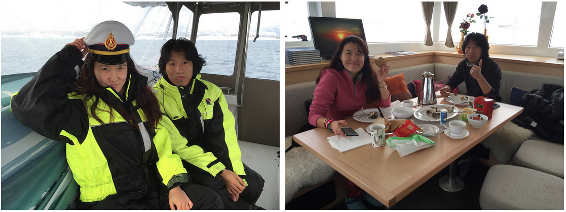 #Sailing | #RELAX | #Tromso | Chineese Guests | #Arctic #Princess