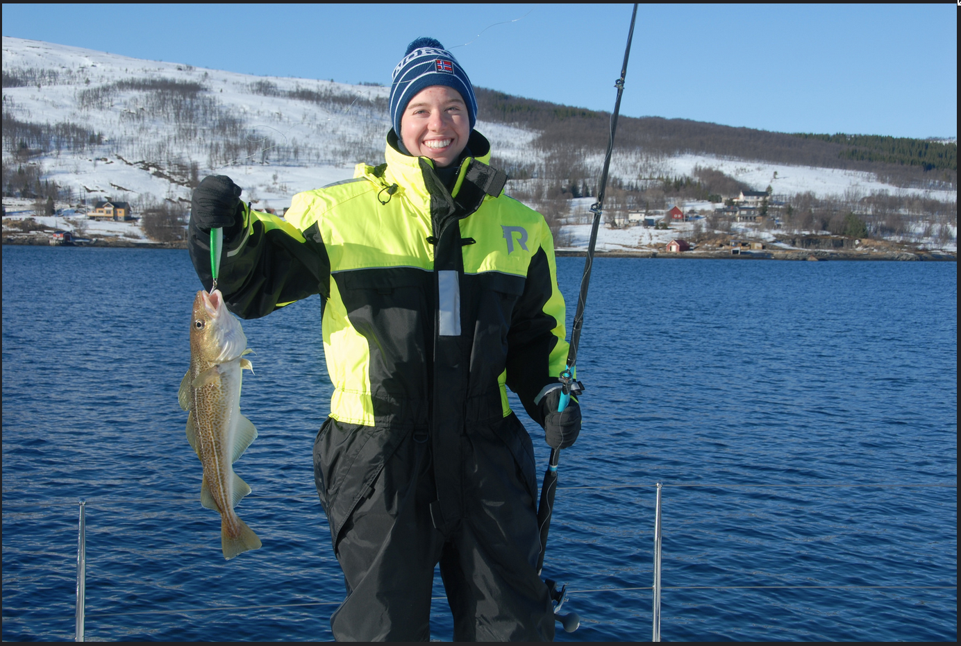Sailing | Tromso | Fishing | Happy american guest