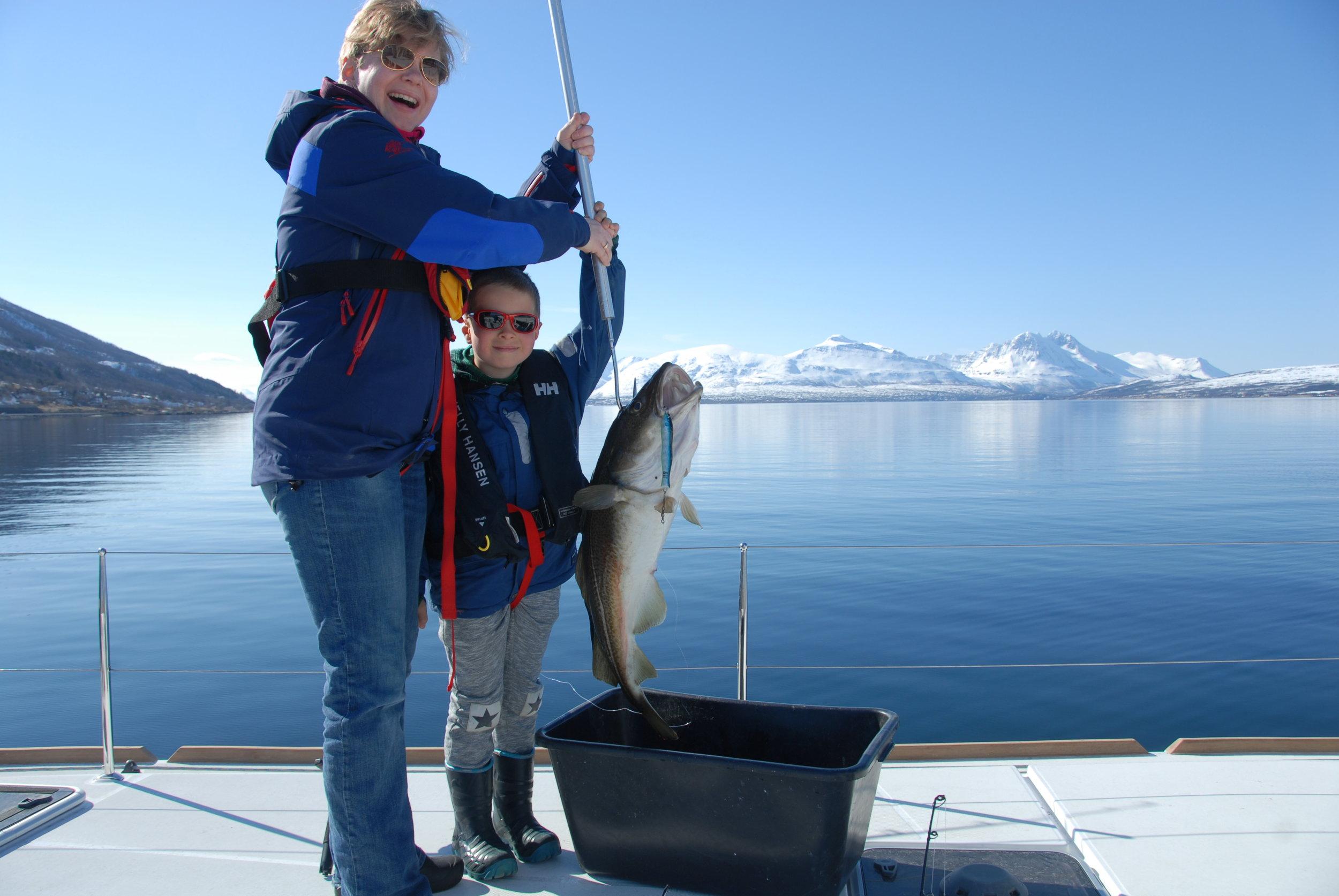 Big fish | Tromso | Arctic Princess | Norway