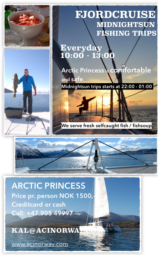 #fjordcruise |#midnigtsun | #fishing | #Tromso