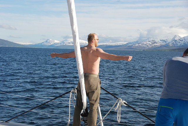 Before wedding | #sailing |#Tromso | #Arctic Pincess