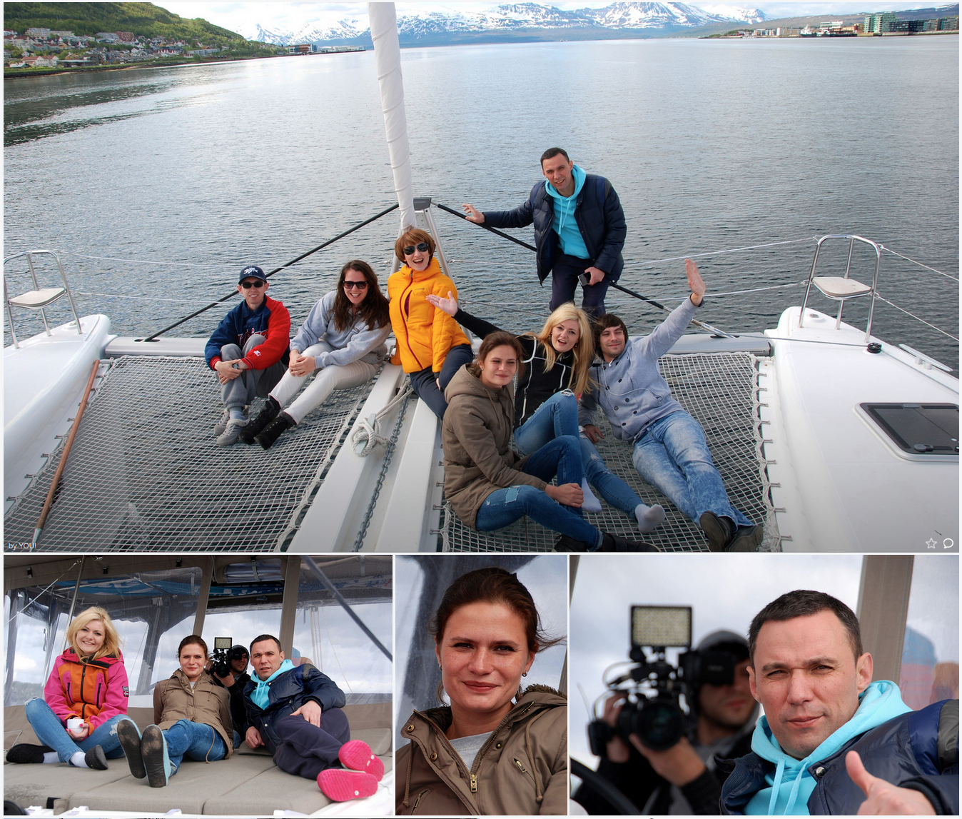 #Fishing trip.|#Tromso | Guest from Russia | US
