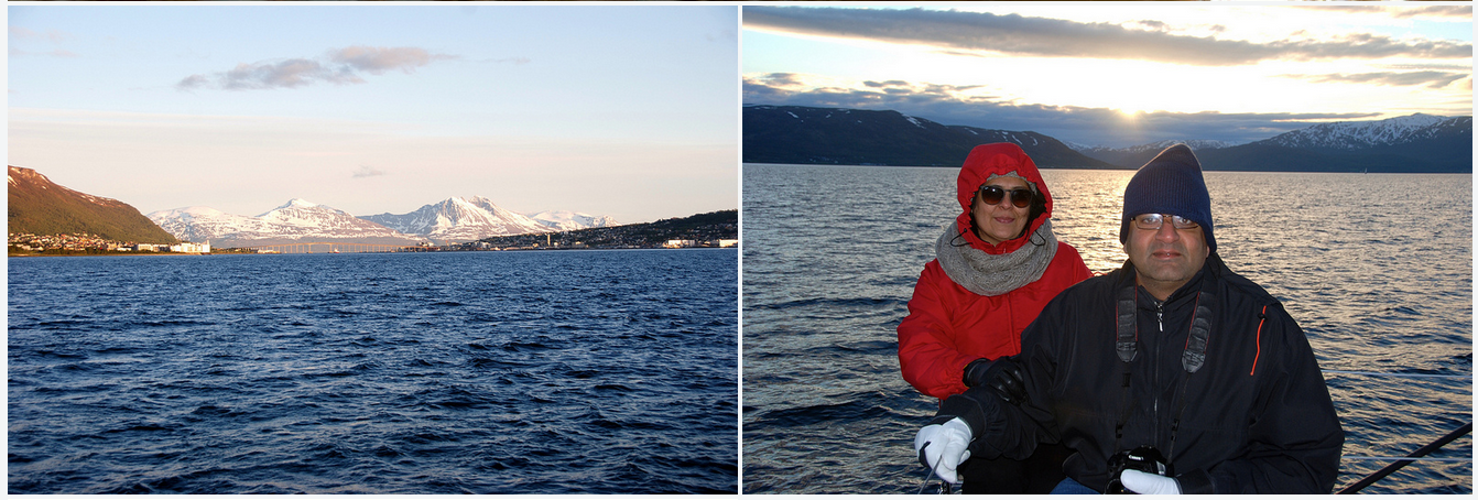 #Midnightsun trip |#Tromso |US Guest