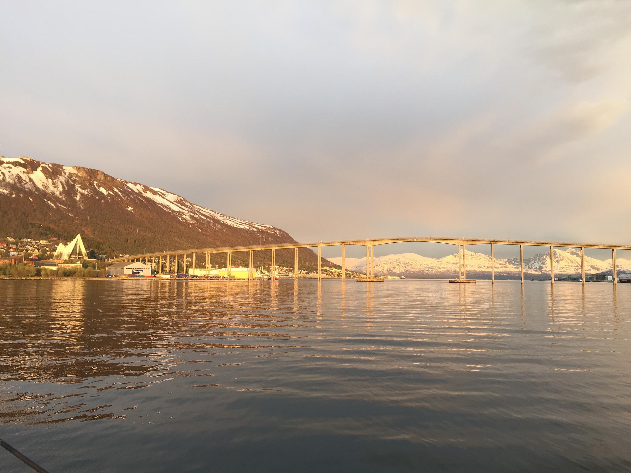 #midnightsun | Tromso | Arctic Princess | Bridge