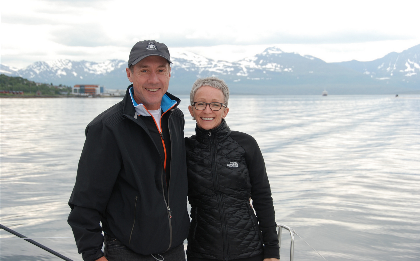#Fishing trip | #Tromsoe | Guests from Canada