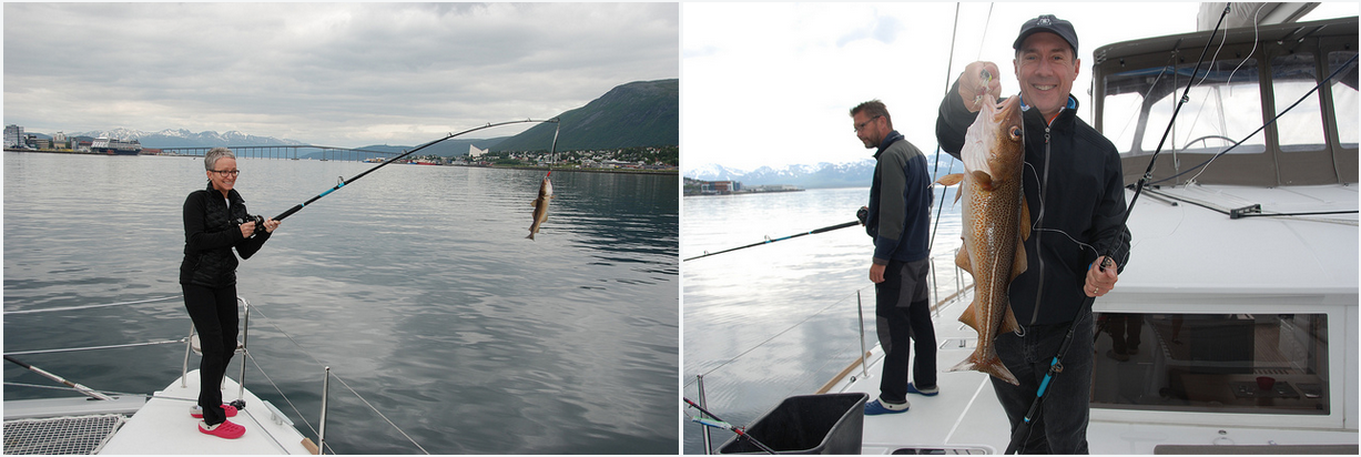 #Fishing trip | #Tromsoe | Happy friends
