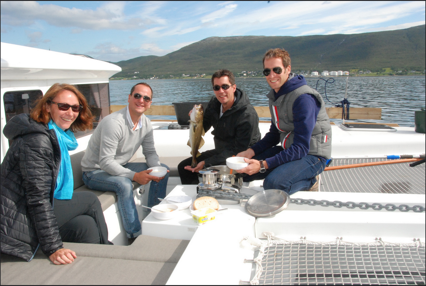 Sail and relax | #Tromsoe | #Fishing |Dinner