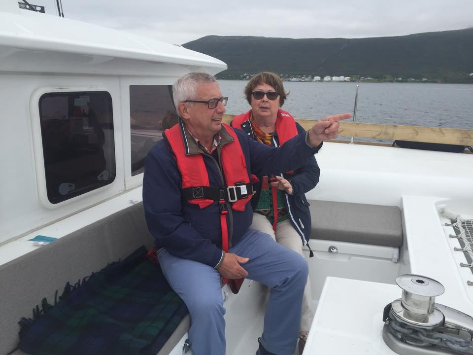Sailing and relax | Swedish guests | Tromsoe