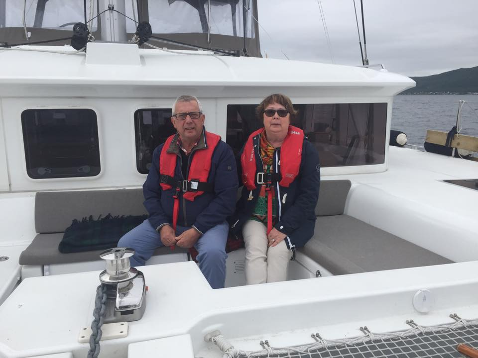 Sailing and relax | Swedish guests