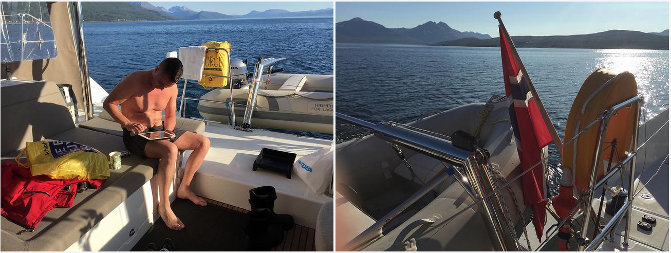#Sailing | Relax | #Tromsoe