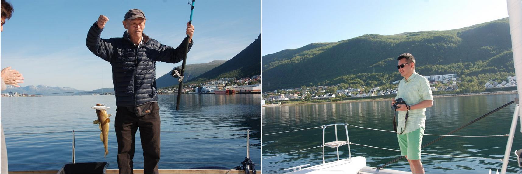 #Saling |Happy guests |#Tromso |#Fishing #China