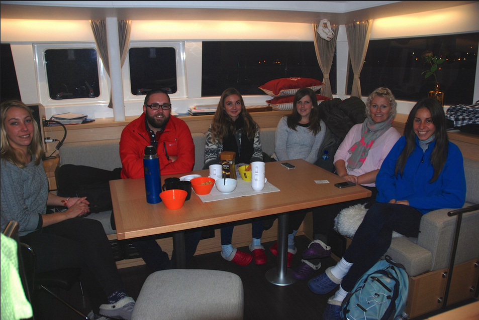 #Northernlight | #Tromso | Guests from UK 1