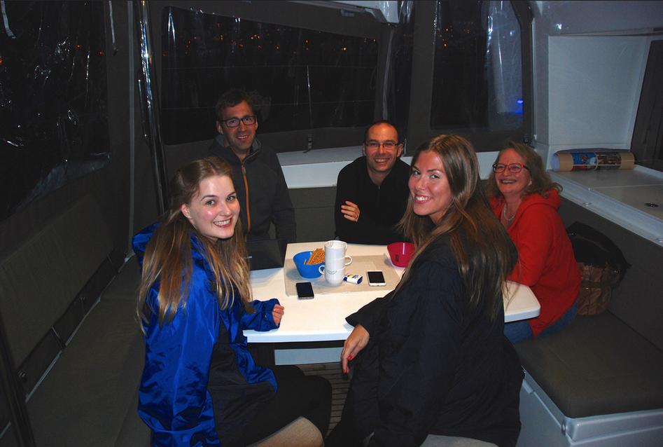 #Northernlight | #Tromso | Guests from UK 2