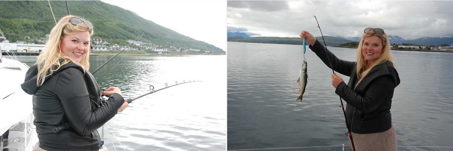 #Sailing | #Tromso | #Fishing | Happy canadian guest