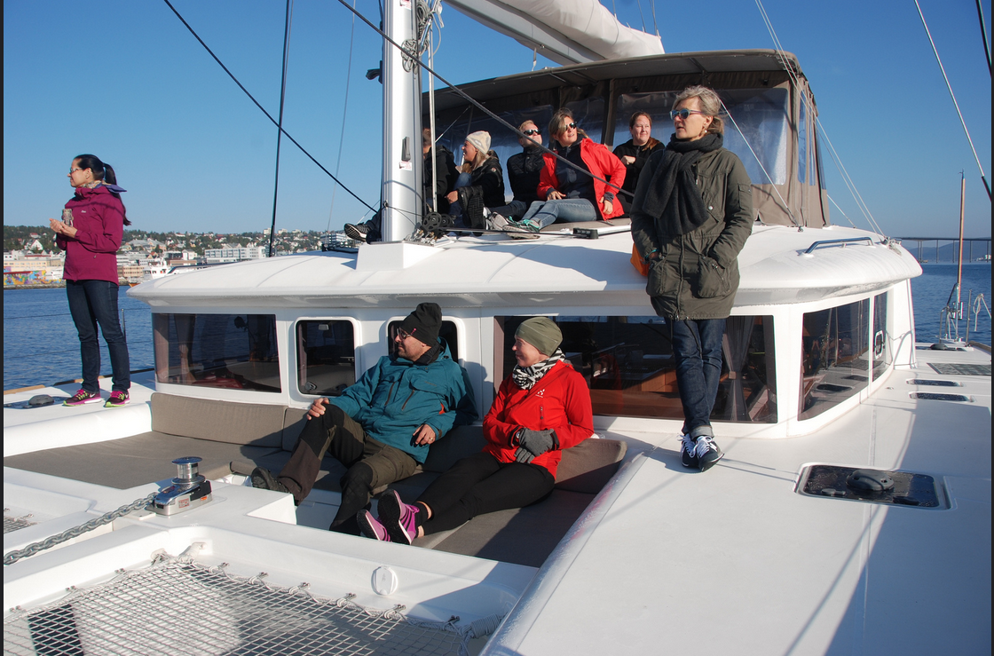 #Sailing | #Tromso | Guests from Sweden | Fantastic Weather