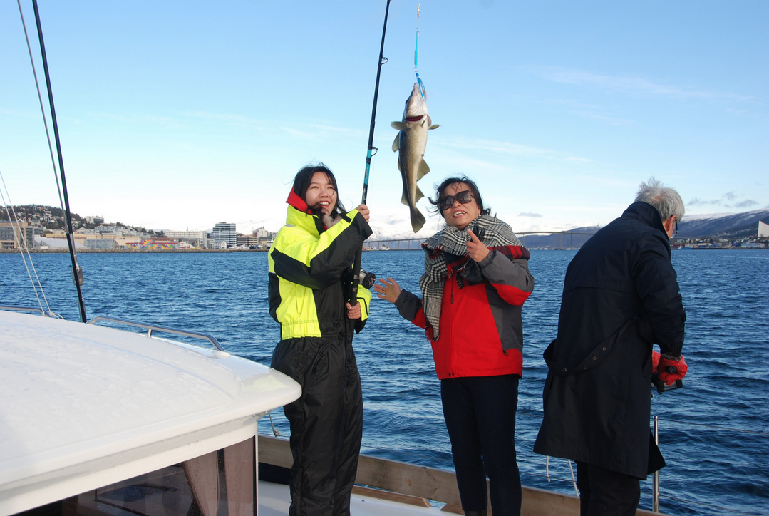 Fishing | Chineese guest | Tromso