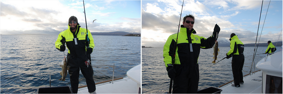 #Fishing | #Tromso | ArcticPrincess | #US friends