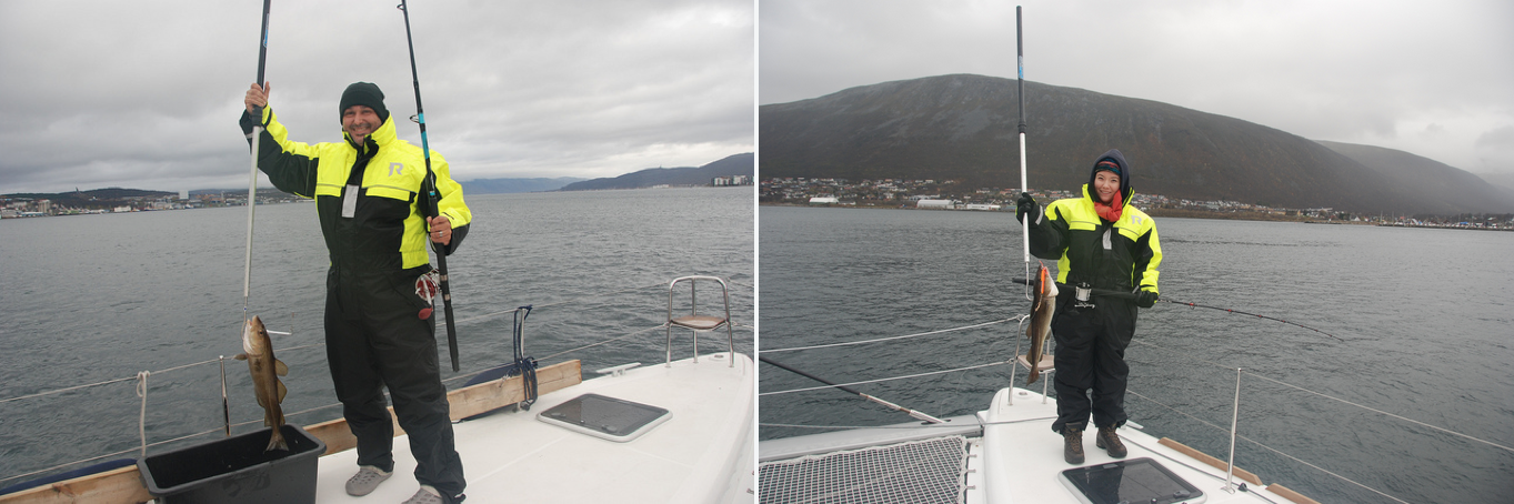 Heavy weather | US guests | Fishdinner | Arcticprincess | Tromso