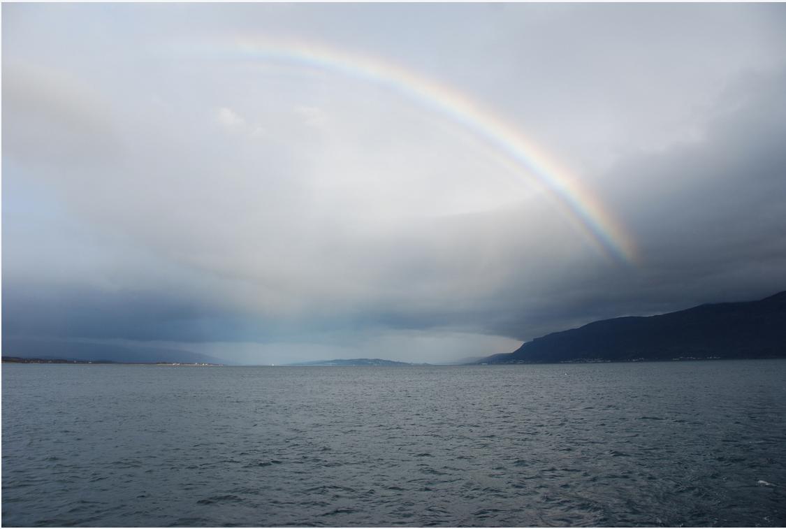 Rainbow | Tromso | Saling | Arctic Princess