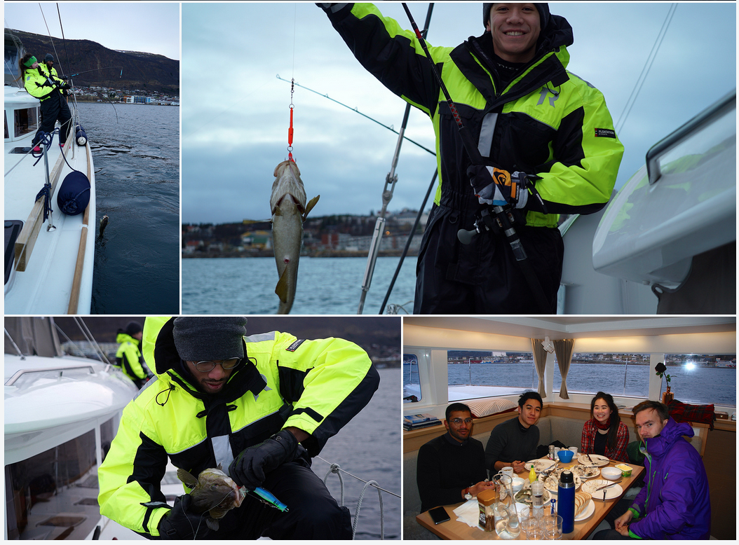Fishing | Arctic Princess | Tromso | Guests from Singapore