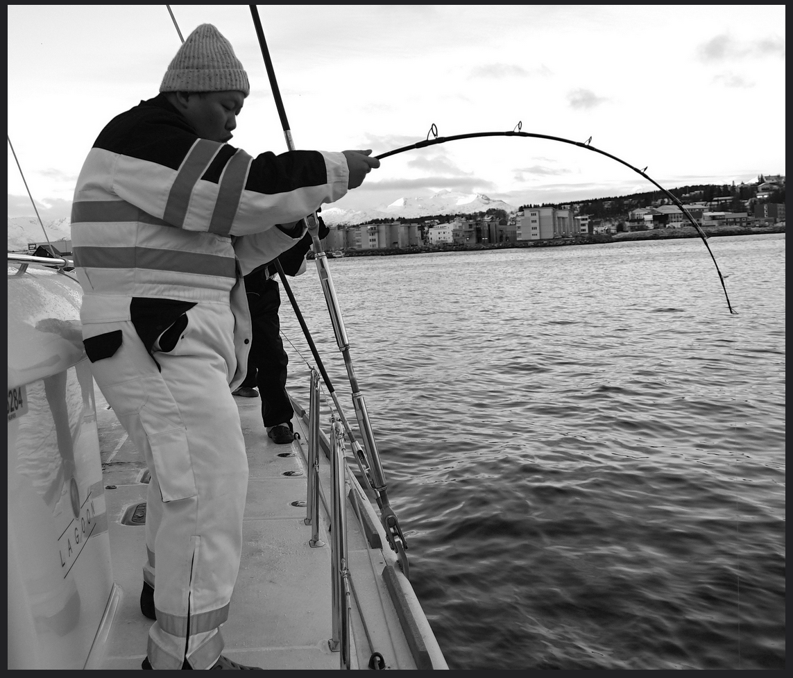 #VIP #Fishing |#Tromso |Guest from Malaysia