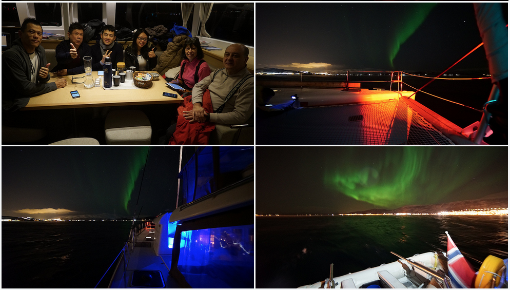#Northernlight |#Tromso |#Boat