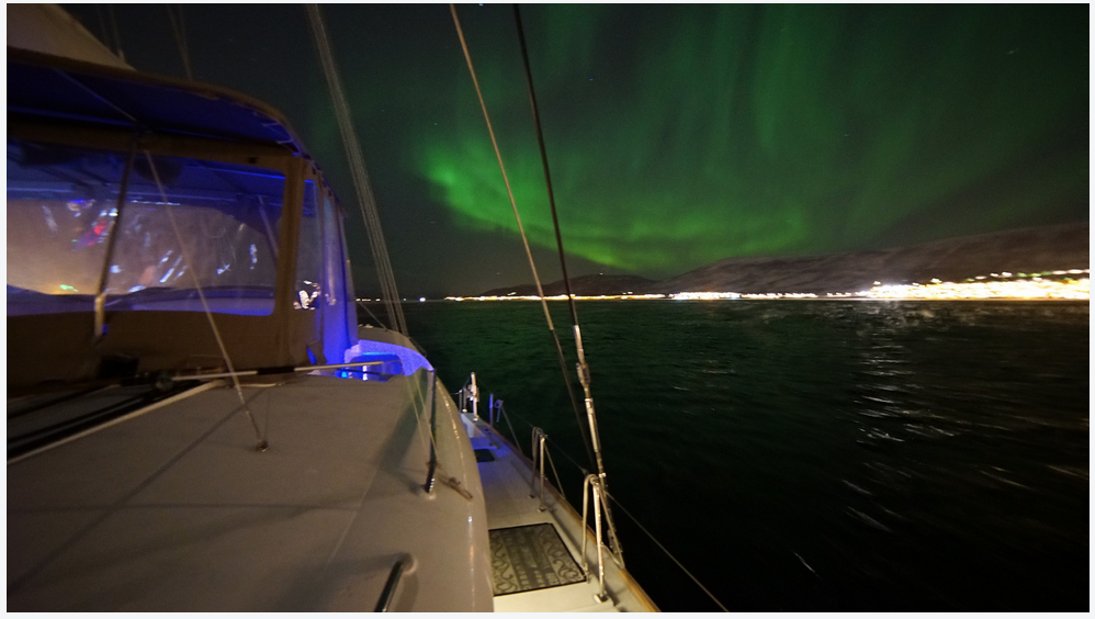 #Northernlight |#Tromso |#Boat | Arctric Princess