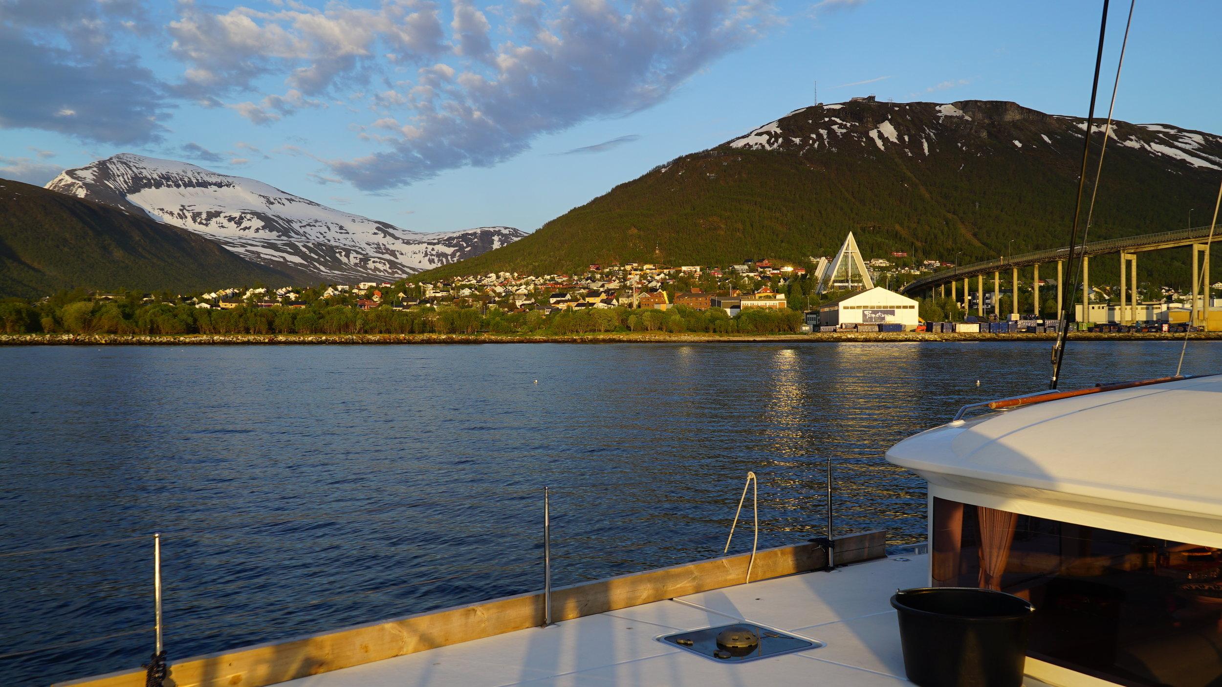 #Midnightsun | #Tromso |Arctic Princess