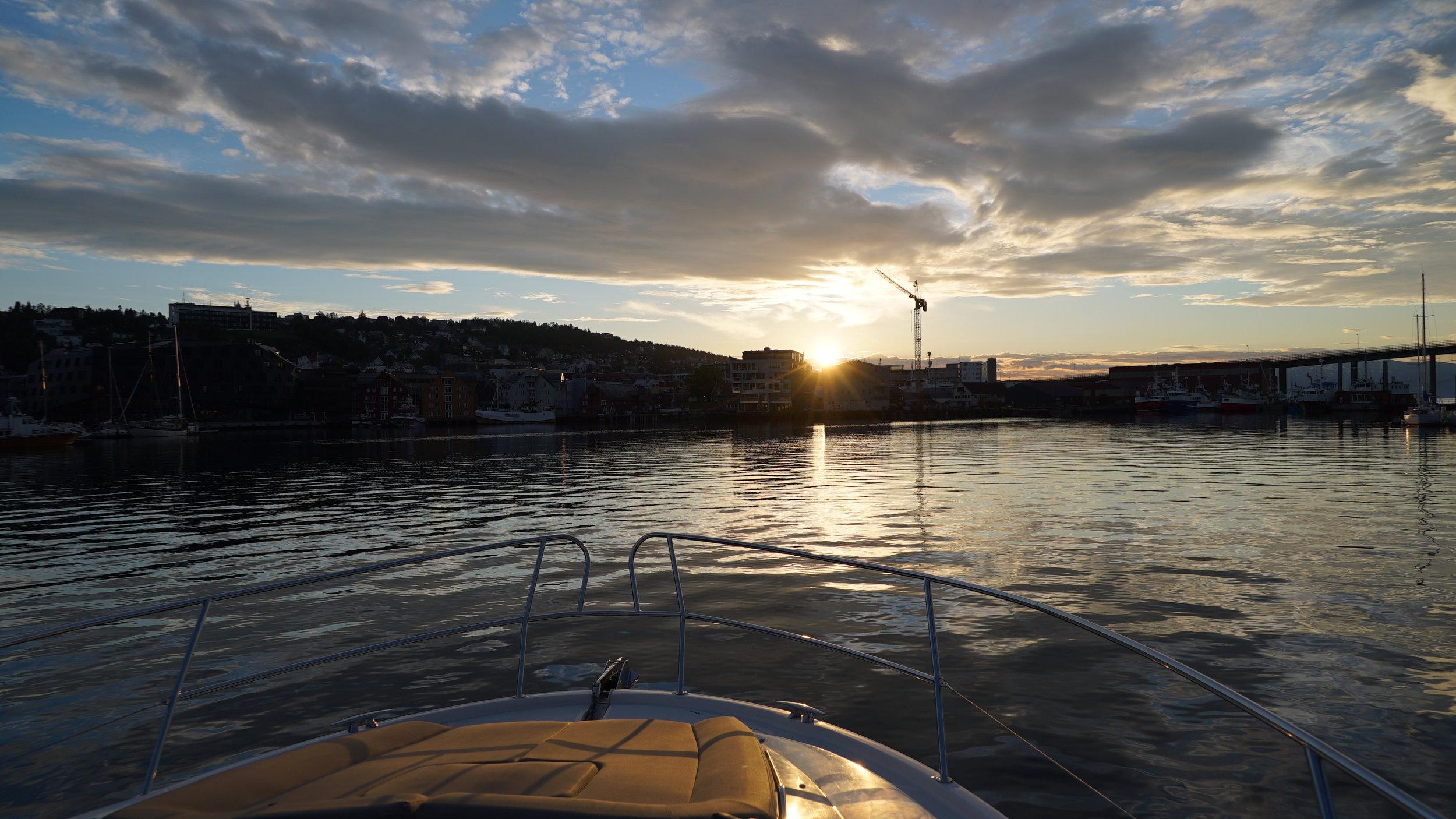 #Cruise #Midnightsun #Tromso