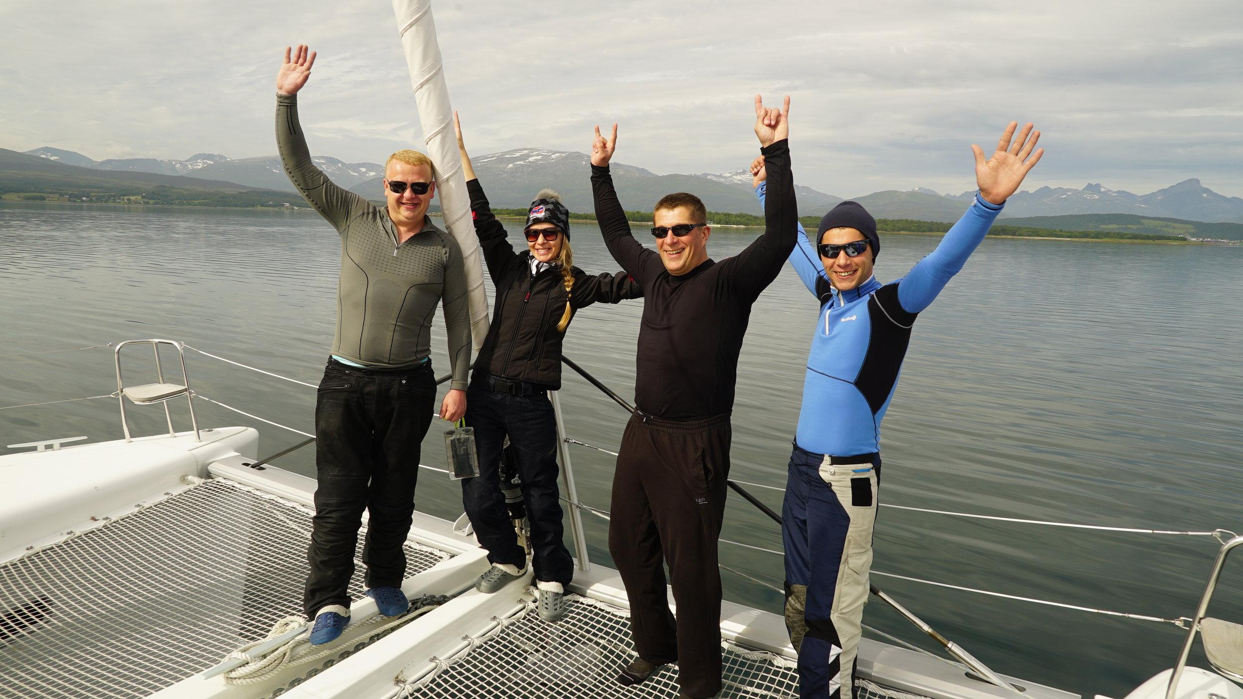#Sail & #relax |#Tromsø | #Fishing | #Harley