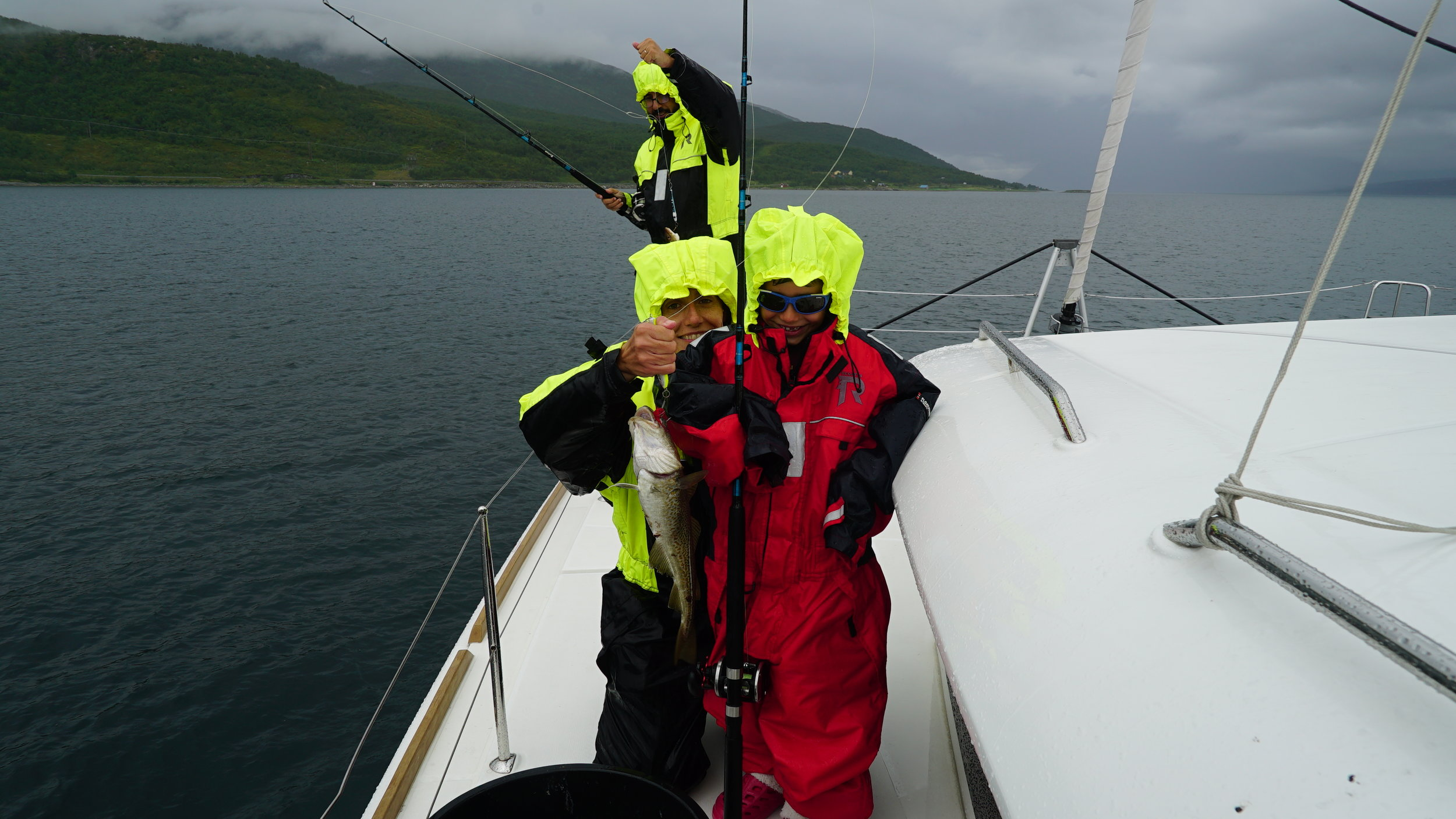 #Fishing | #Tromsø | Guests from Barcelona
