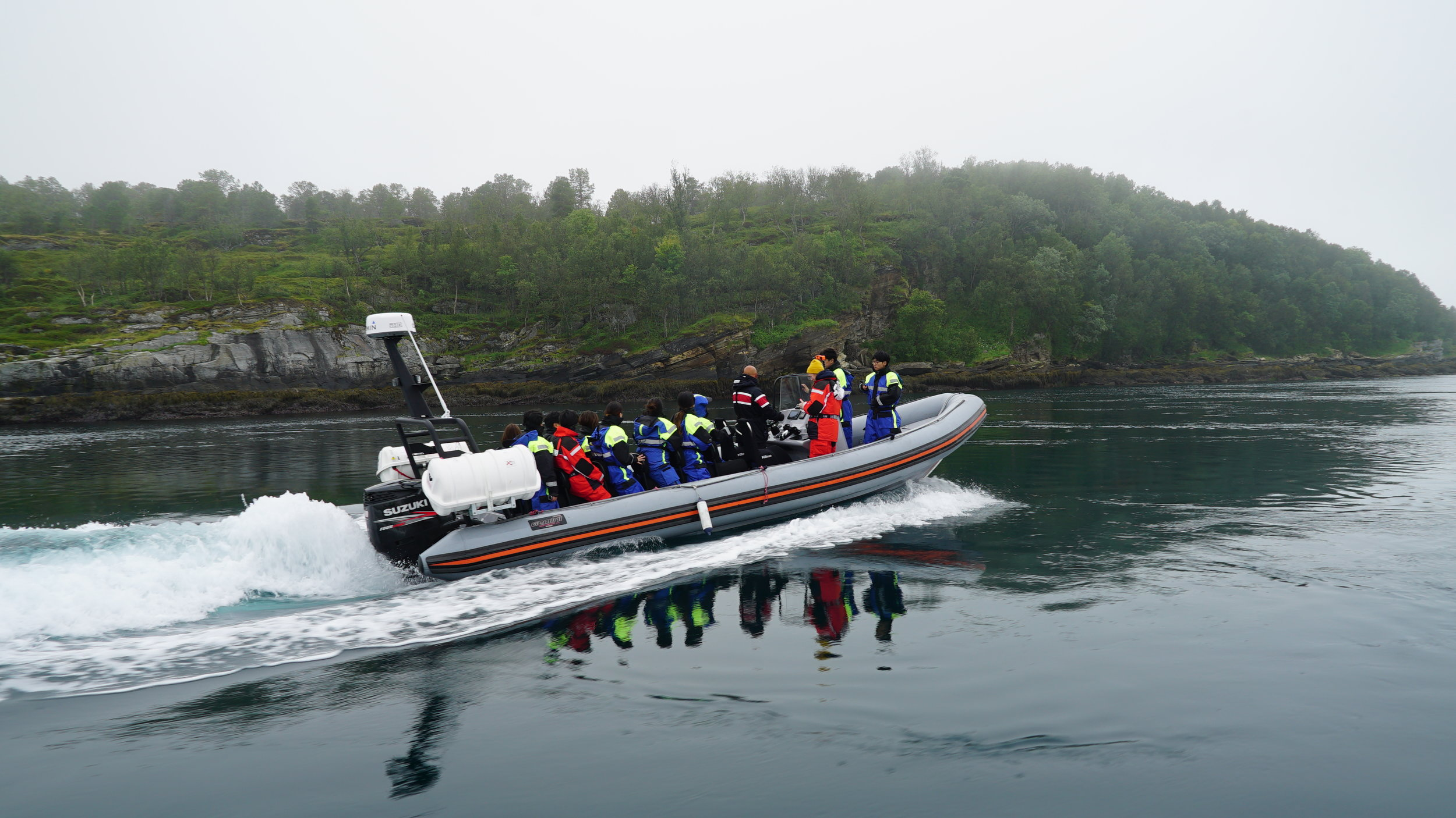 Fantastic RIB Cruising | #Hella | Guests from South Korea | Green Gold Of Norway